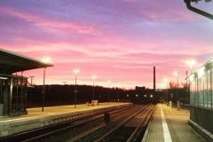 Bahnhof Mühlhausen