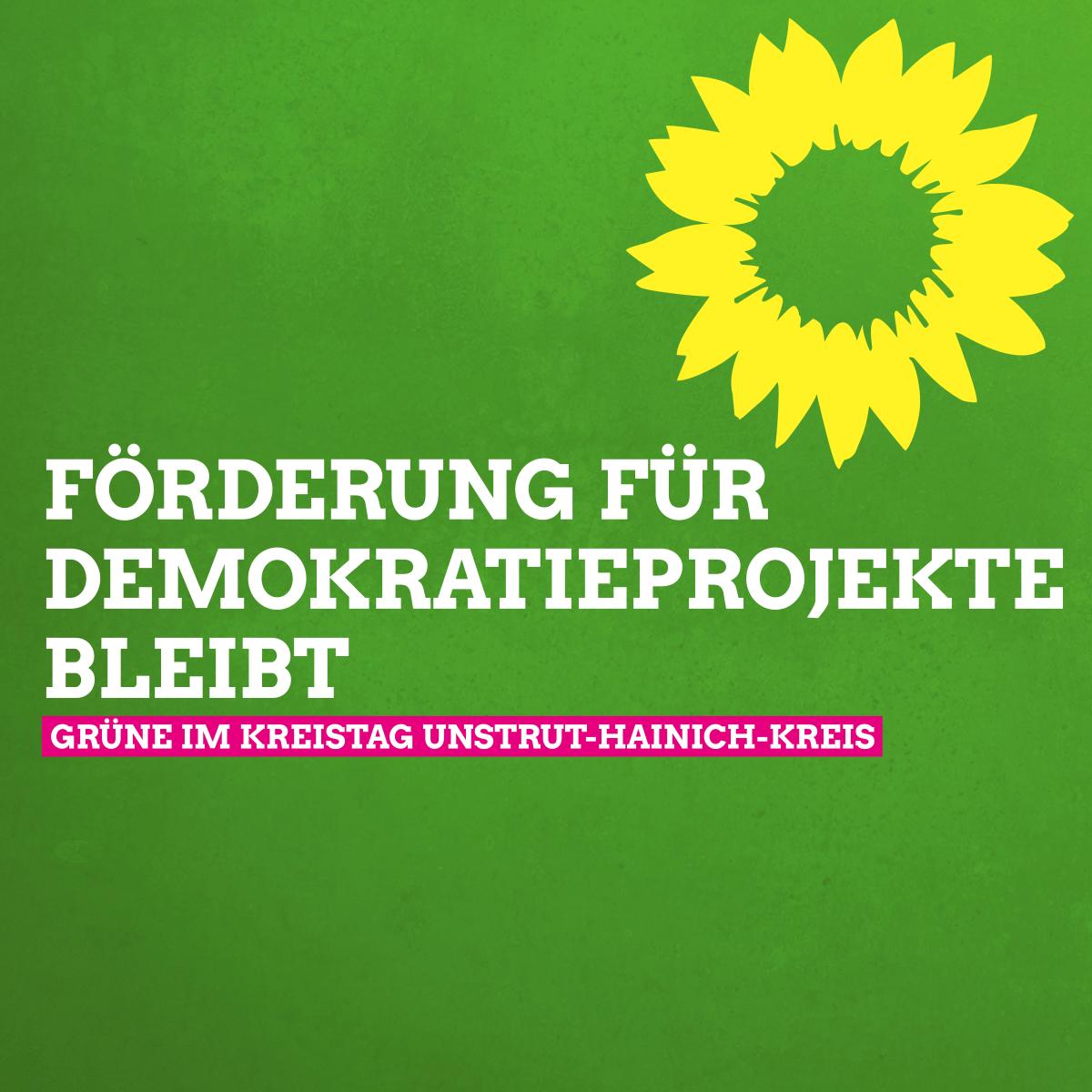 """Linke und Grüne begrüßen die Entscheidung zur Weiterführung der Förderung """"Demokratie leben"""""""